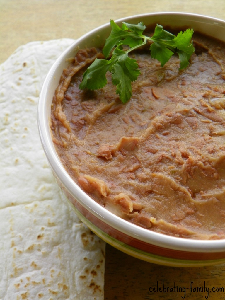 Not-Refried Beans : Delicious and Good for You! (Vegan)