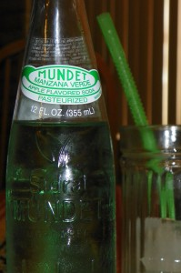 Green apple soda