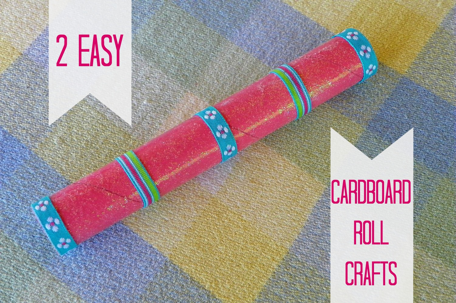 Cardboard Roll Craft Fairy Wand And Sea Serpent