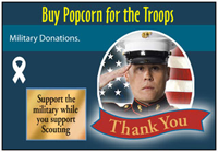 Cub Scouts Popcorn and Troop Donations