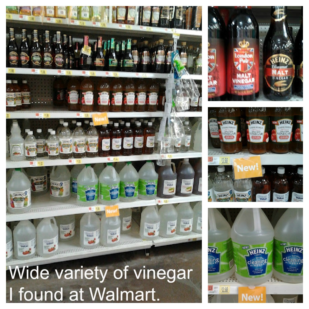 variety of vinegar