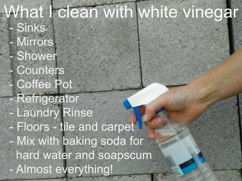 what i clean with white vinegar