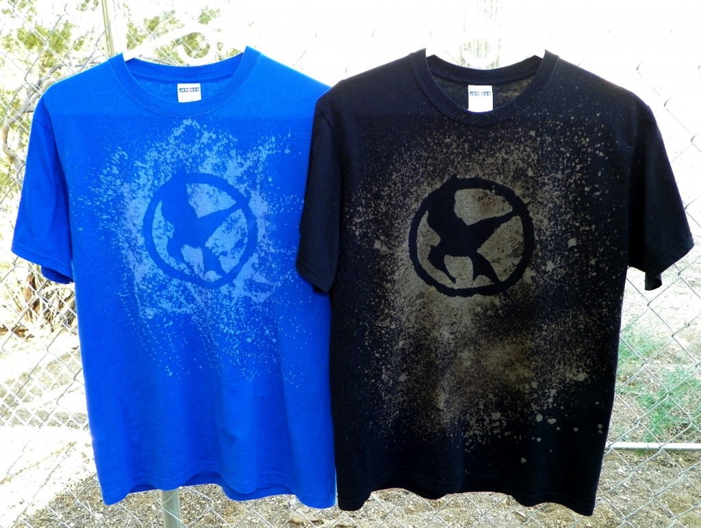 DIY Hunger Games Shirts - Easy to make!