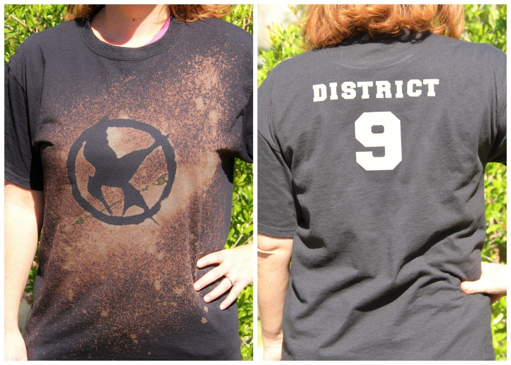 DIY Hunger Games Shirts Celebrating Family