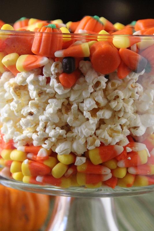 Popcorn centerpiece centerpiece