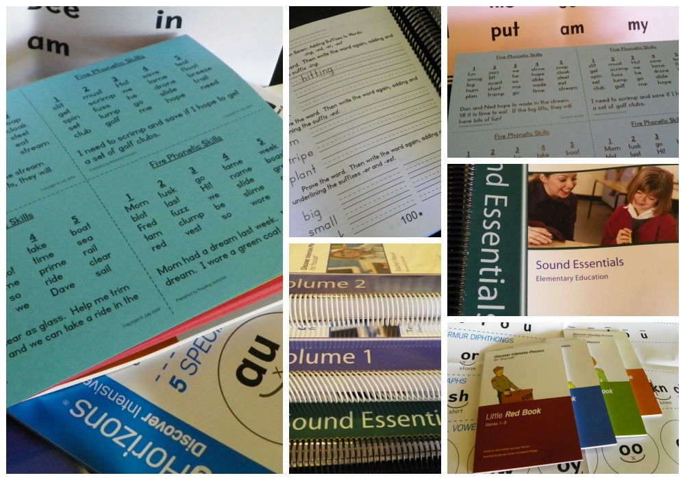 Reading Horizon's Intensive Phonics Instructor Materials (Review and Giveaway)