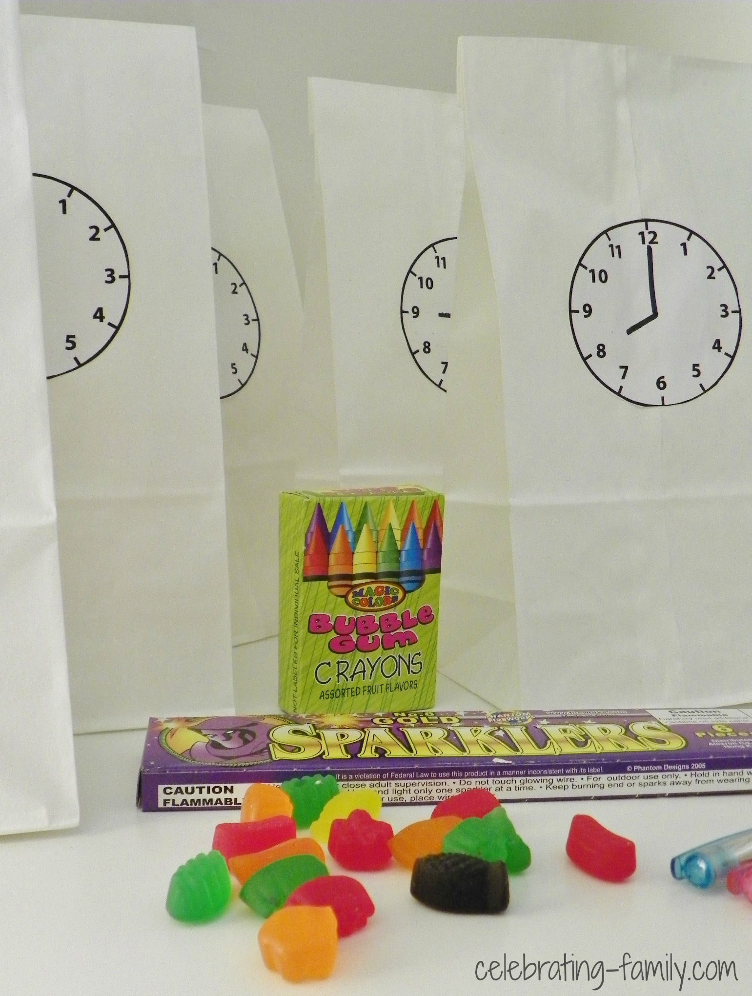 New Year's Countdown Activity for Kids