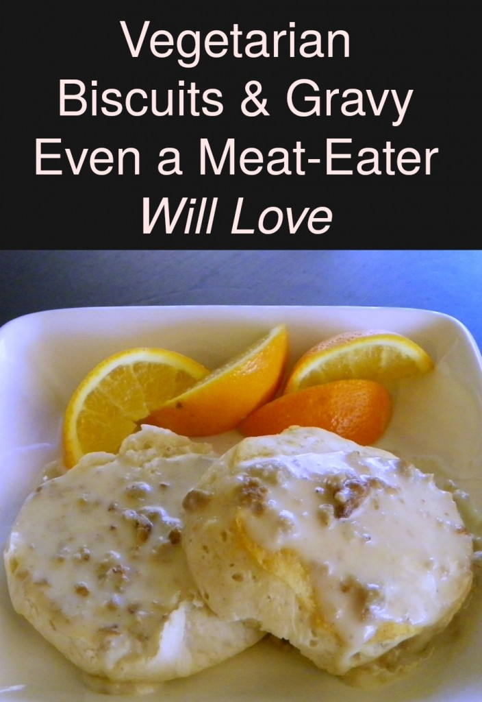 Vegetarian Biscuits and Gravy Even a Meat-Eater Will Love