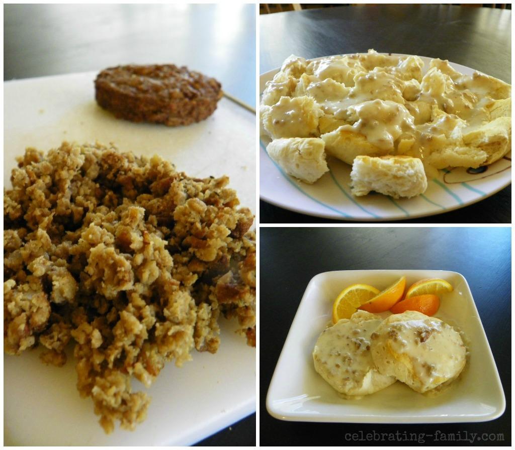 Vegetarian Biscuits and Gravy