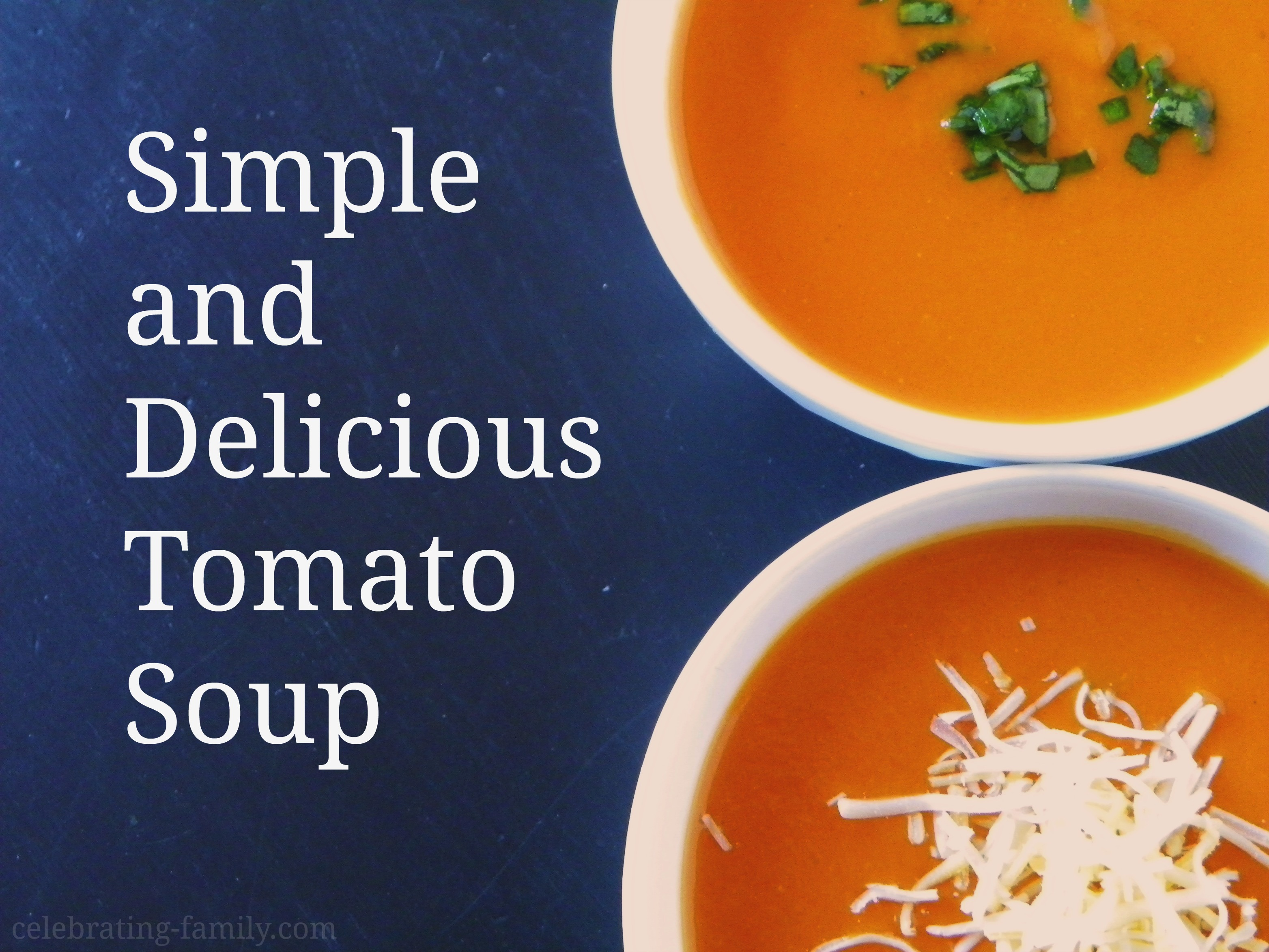 Simple Skinny Chunky Tomato Soup..