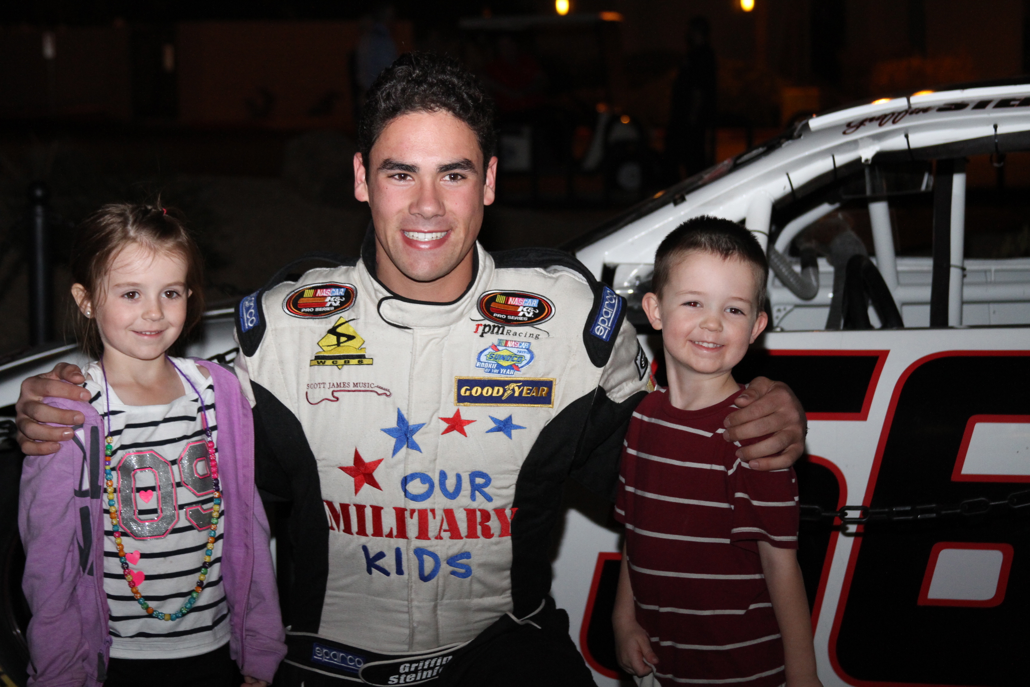 Our Military Kids and NASCAR, Supporting Military Kids