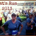 I Did It! Pat's Run 2013