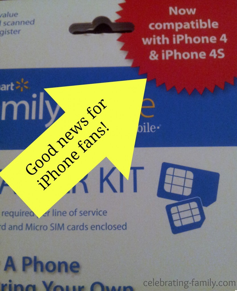 iPhone is compatible with  Family Mobile