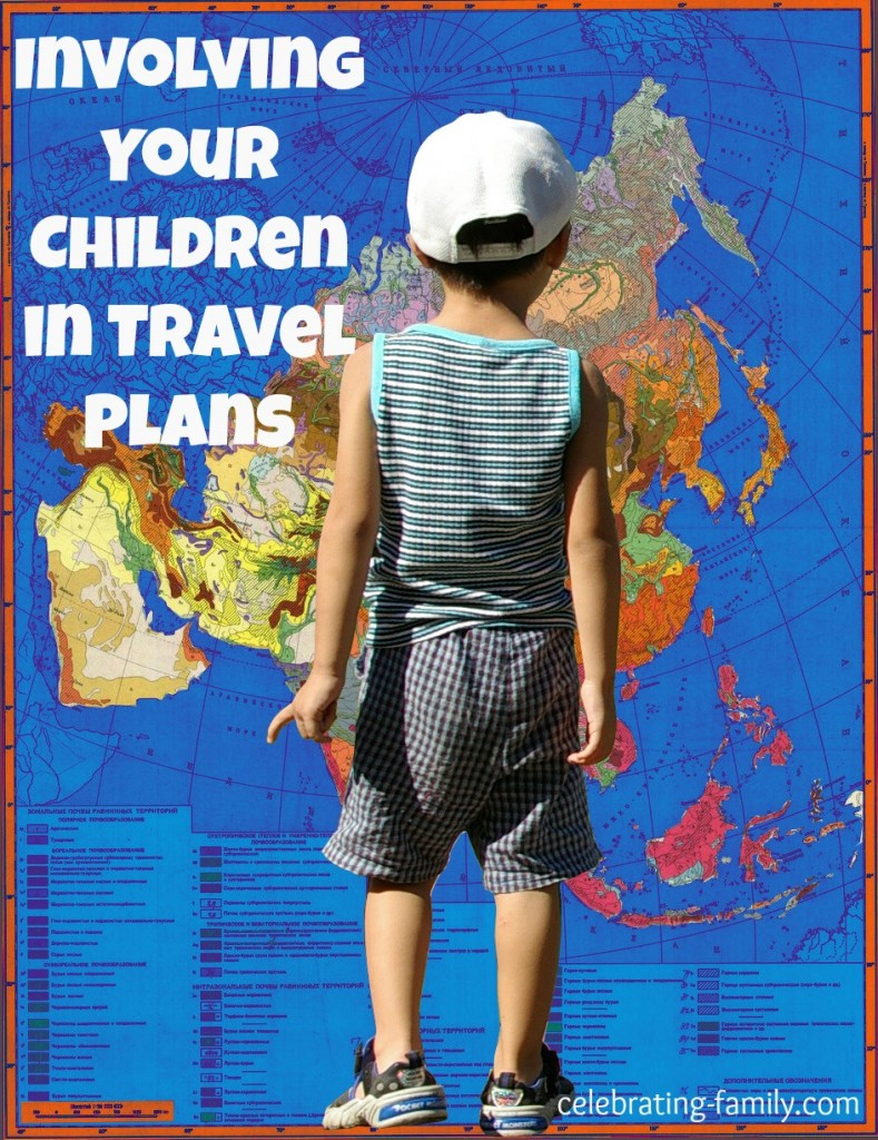 Ideas for involving your children in travel plans