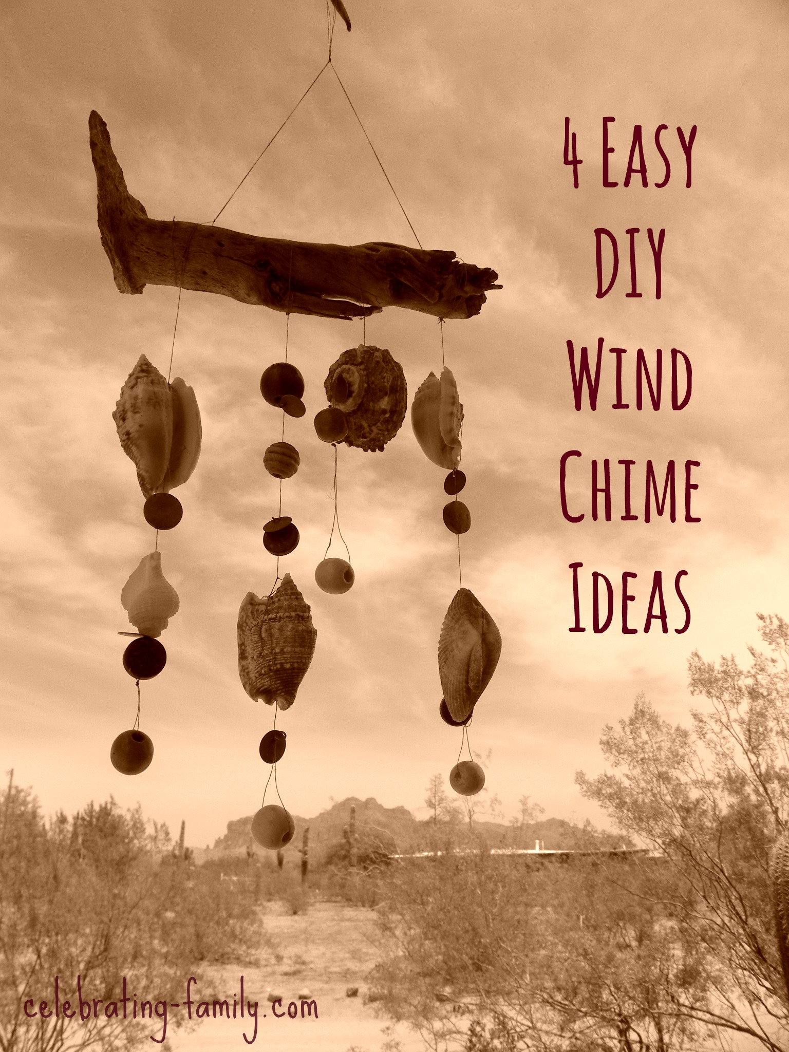 How to make a wind chime for How to make a simple wind chime