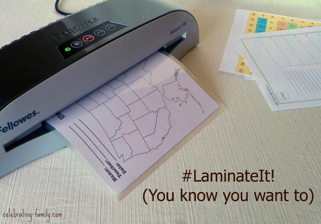 Fellowes Laminator #LaminateIt