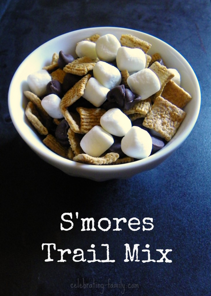 S'mores Trail Mix Recipe (and campfire safety tips)