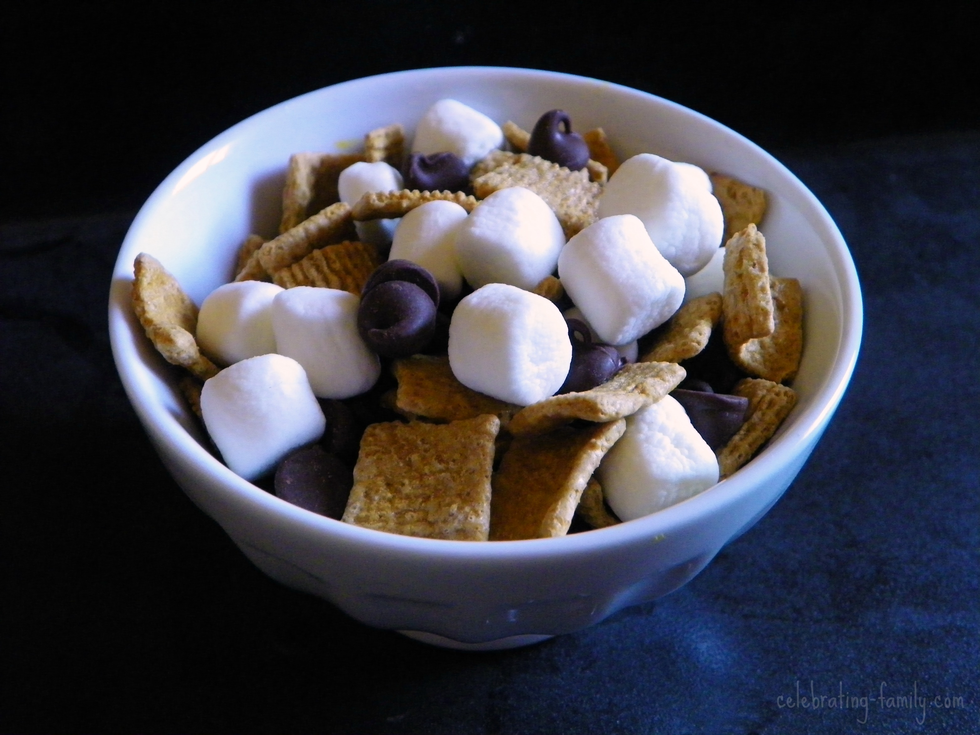 Smores Trail Mix And Campfire Safety Tips