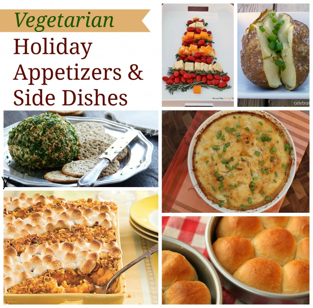 Vegetarian Appetizers and Side Dishes for the Holidays