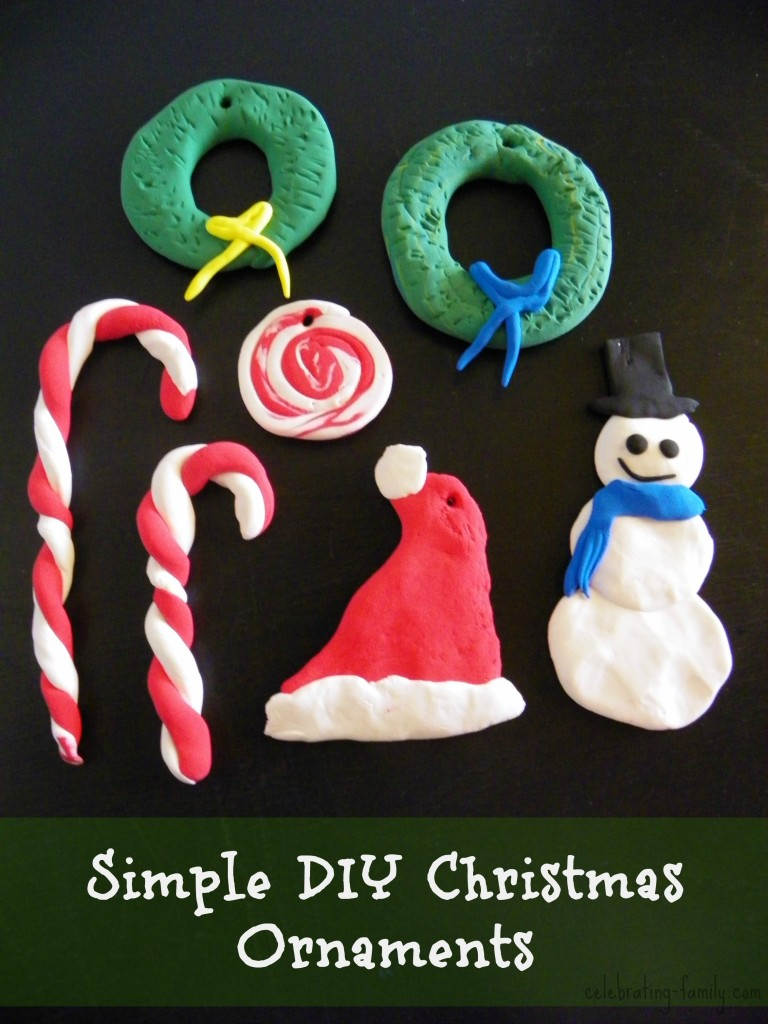 Simple DIY Christmas Ornaments