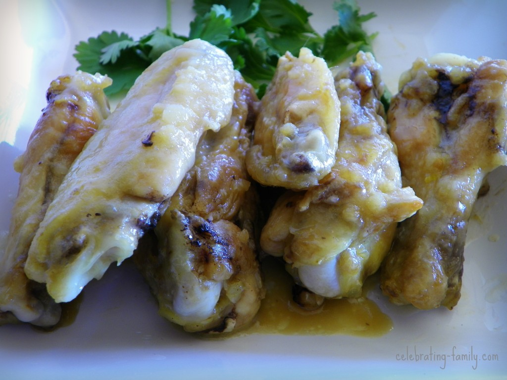 Asian Inspired Sweet and Tangy Baked Wings