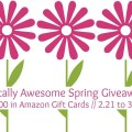 $600 Amazon Totally Awesome Spring Giveaway (3/21)