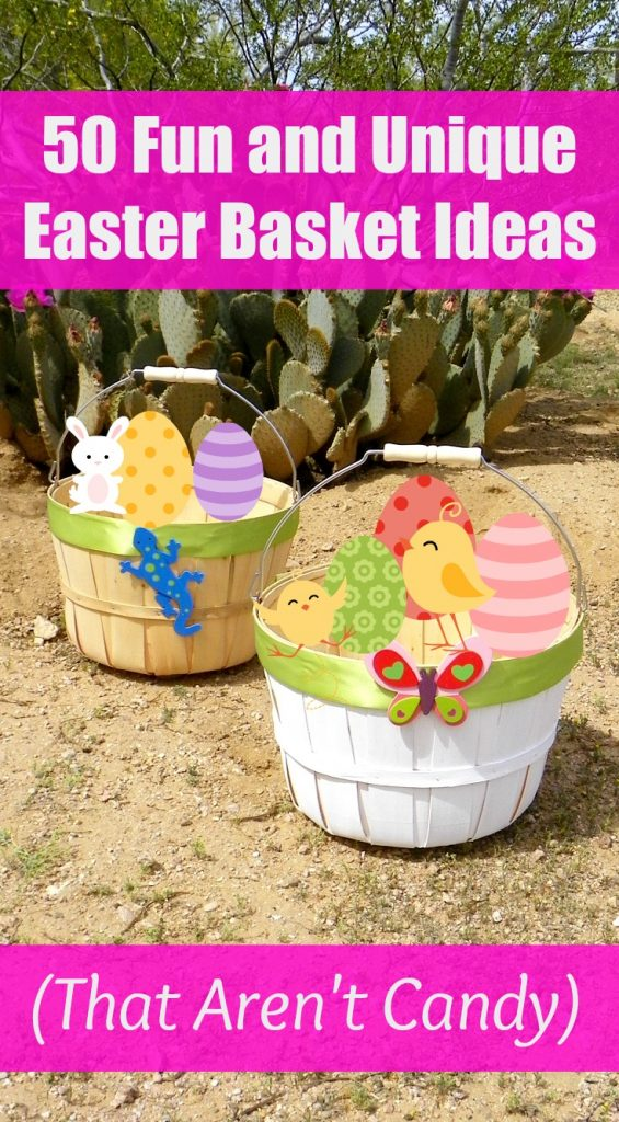50 fun and unique easter basket ideas that arent candy what are your favorite easter basket ideas negle Image collections
