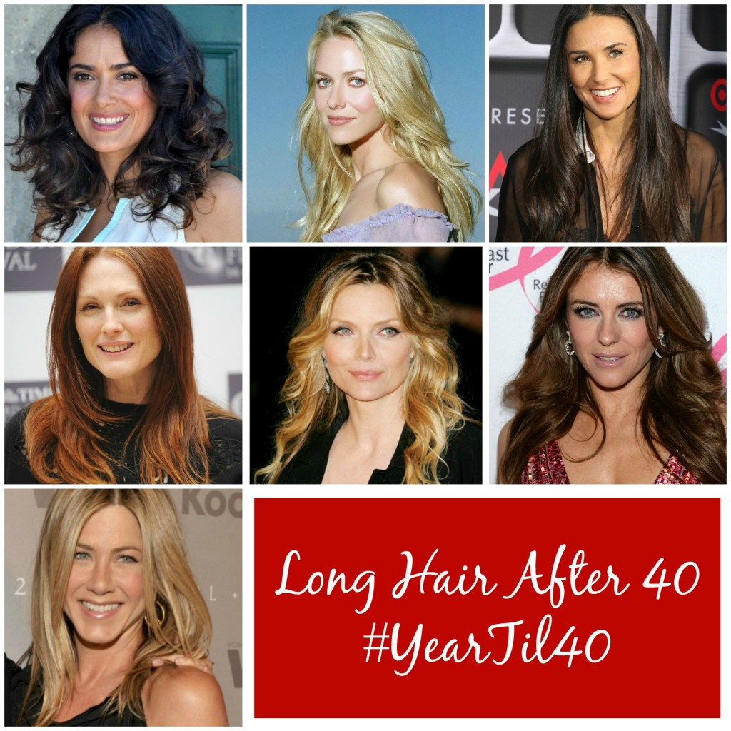 Long Hair After 40 #YearTil40
