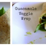 Easy Guacamole Veggie Wrap #15MinuteSuppers