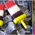 Red, White, and Blue Popsicles – Dye-free and All-Natural