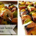 Hawaiian Barbecue Chicken Skewers (and Tofu Skewers)