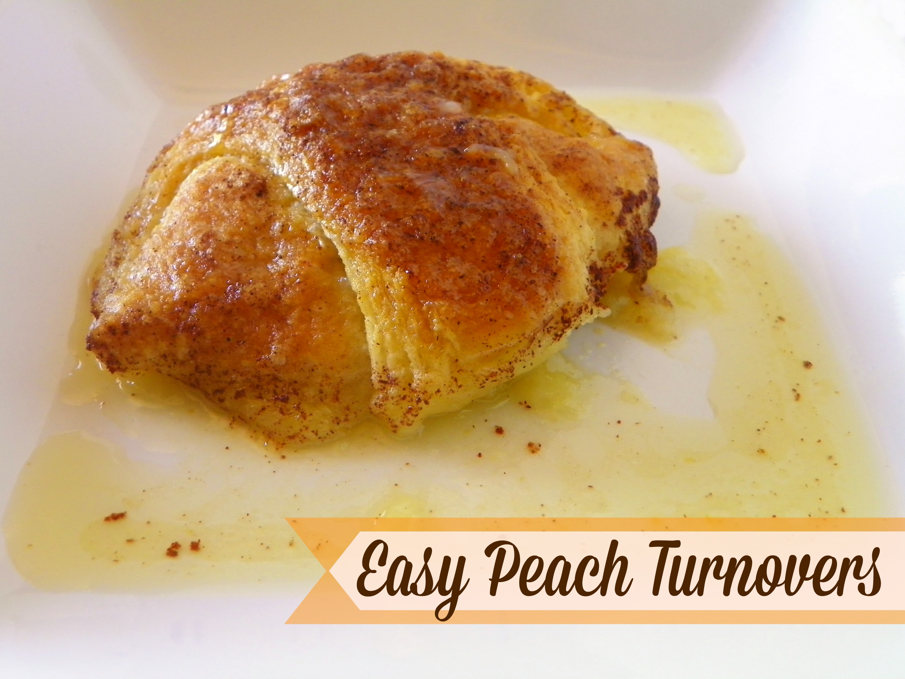 the peach filling is simple flaky peach turnovers easy peach turnovers ...