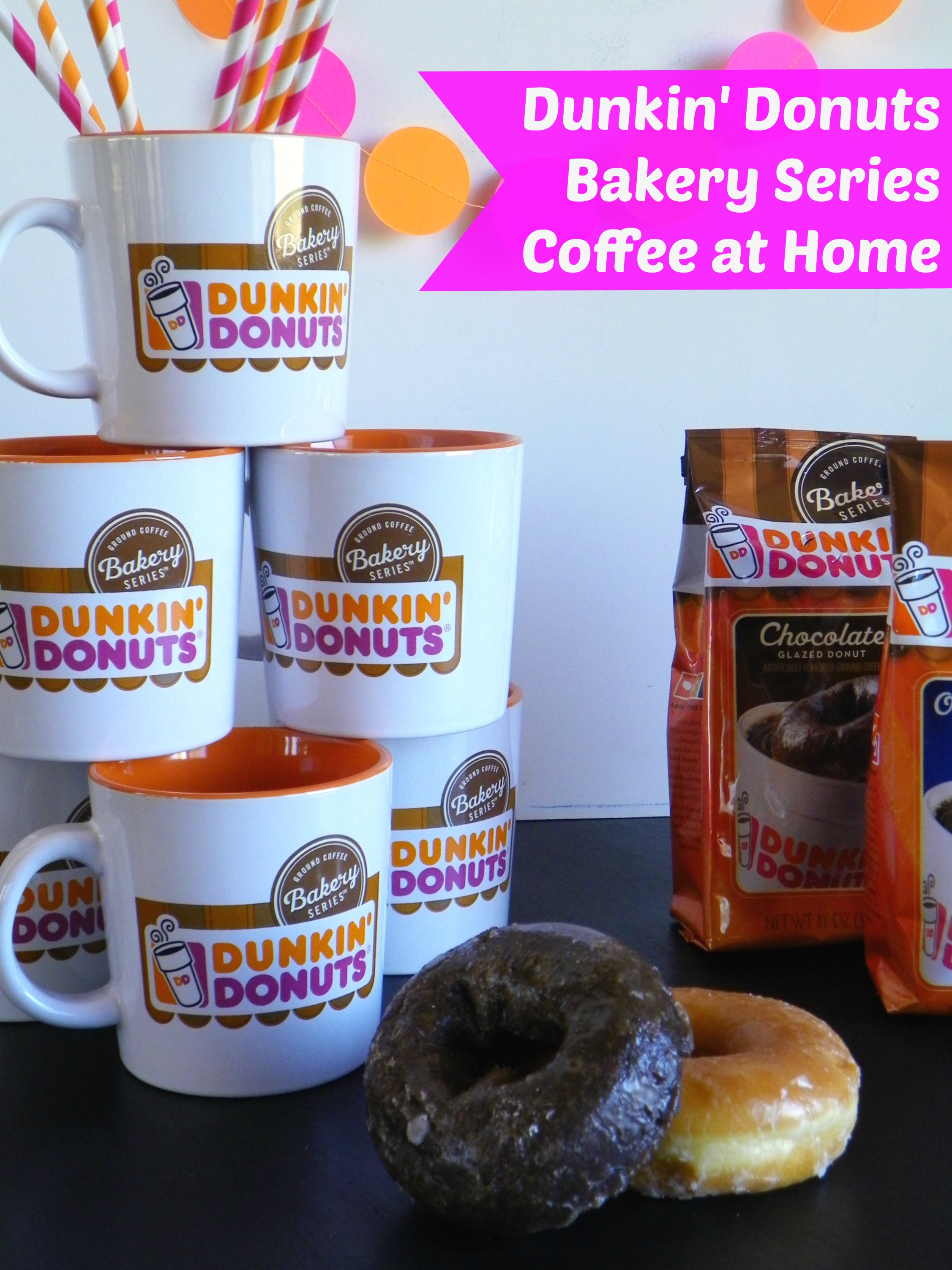 Dunkin Donuts Iced Coffee And Bakery Series Coffee