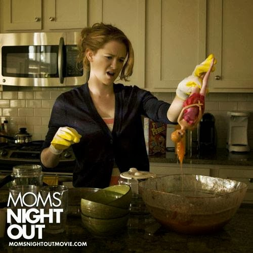 Sarah Drew Moms' Night Out