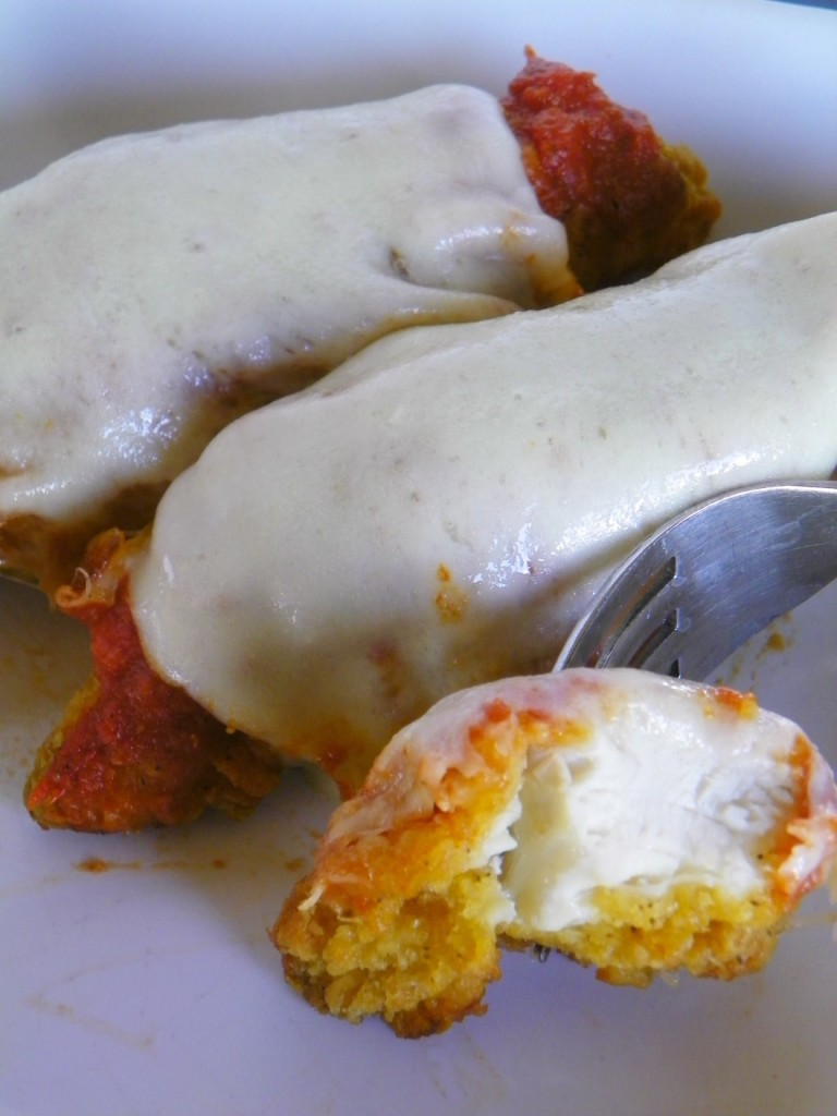 Easy Chicken Parmesan Dinner