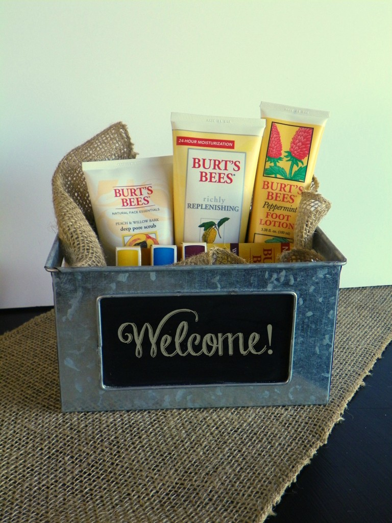 Burt's Bees Natural Products - Plus 5 Ways to Make a Guest Feel at Home