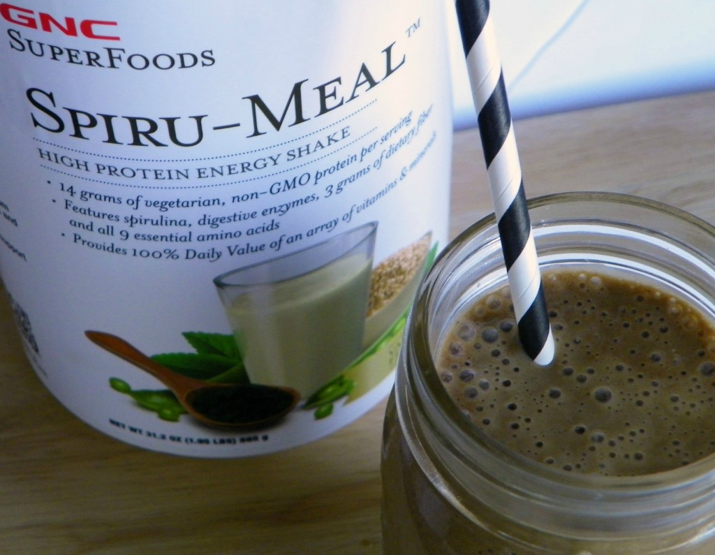 Chocolate Plant Based Protein Shake #GNCPlantProtein