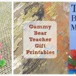 Gummy Bear Teacher Gift (Printable)