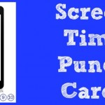 Screen Time Punch Card (Free Printables)