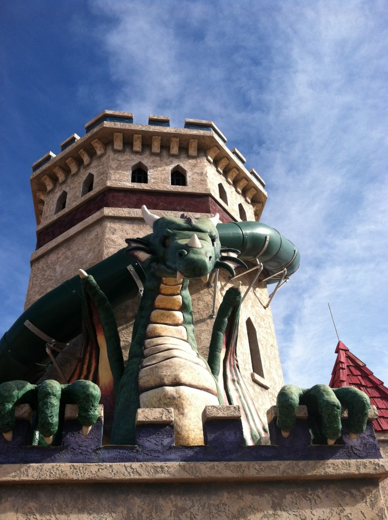 Dragon Tower - The Arizona Renaissance Festival