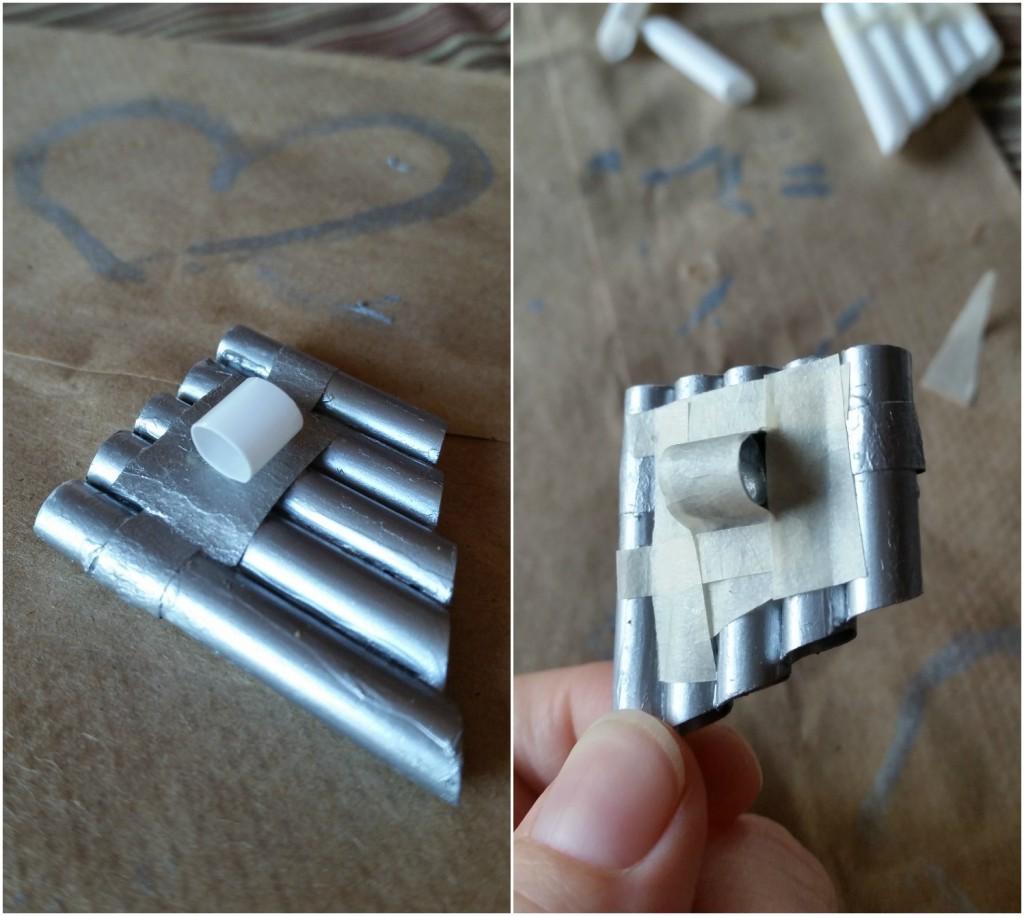 Pan Necklace Craft Step 4