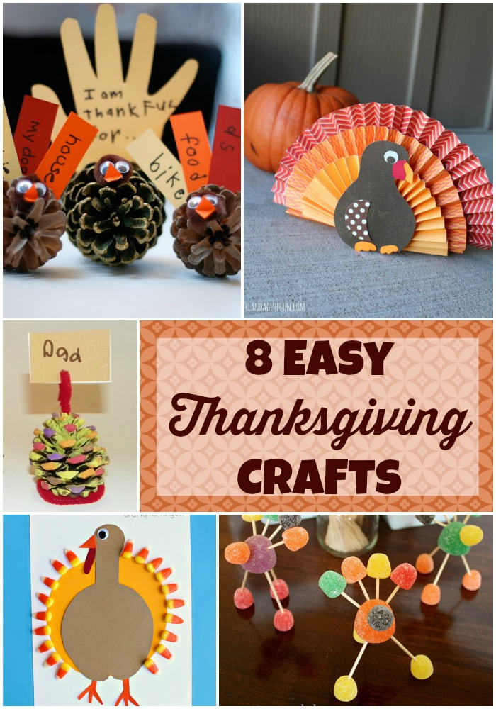 8 Easy Thanksgiving Crafts for Kids