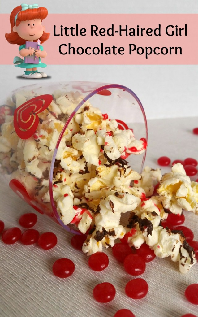 Little Red-Haired Girl Chocolate Popcorn