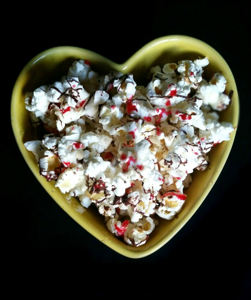 Spicy Chocolate Popcorn
