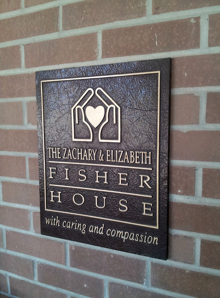 Fisher House sign