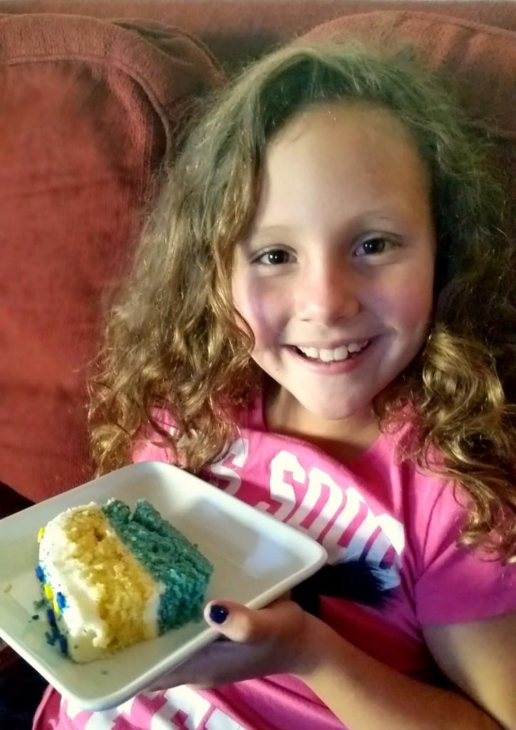 Minions Layer Cake #MinionsMovieNight ready to watch