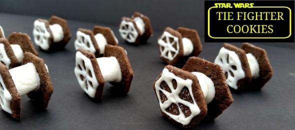 Star Wars Tie Fighter Cookies