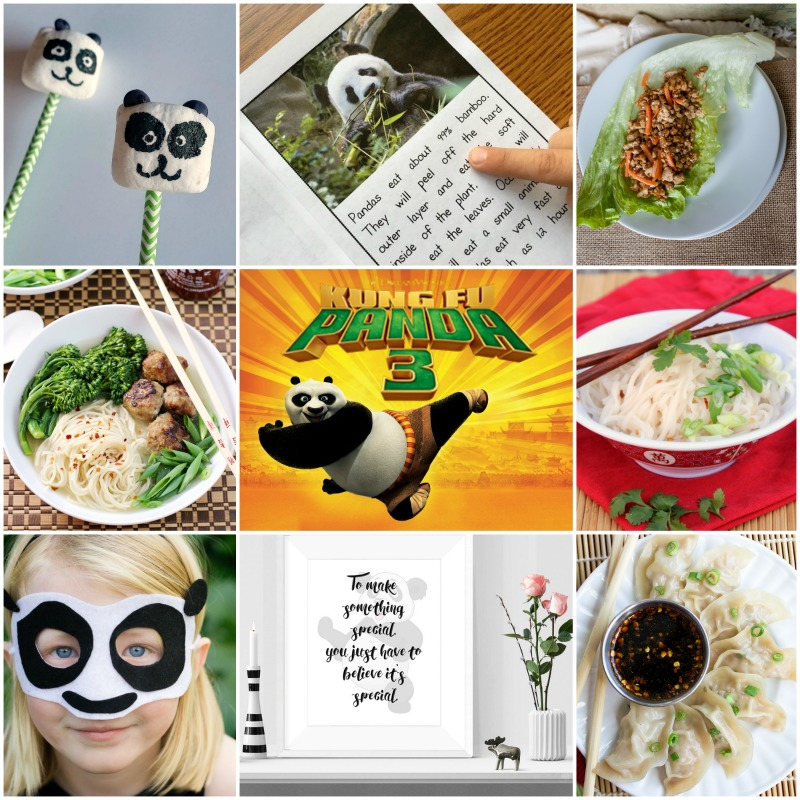 Kung Fu Panda 3 SQUARE Collage