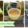 Turn Your Easter Basket Into a Planter