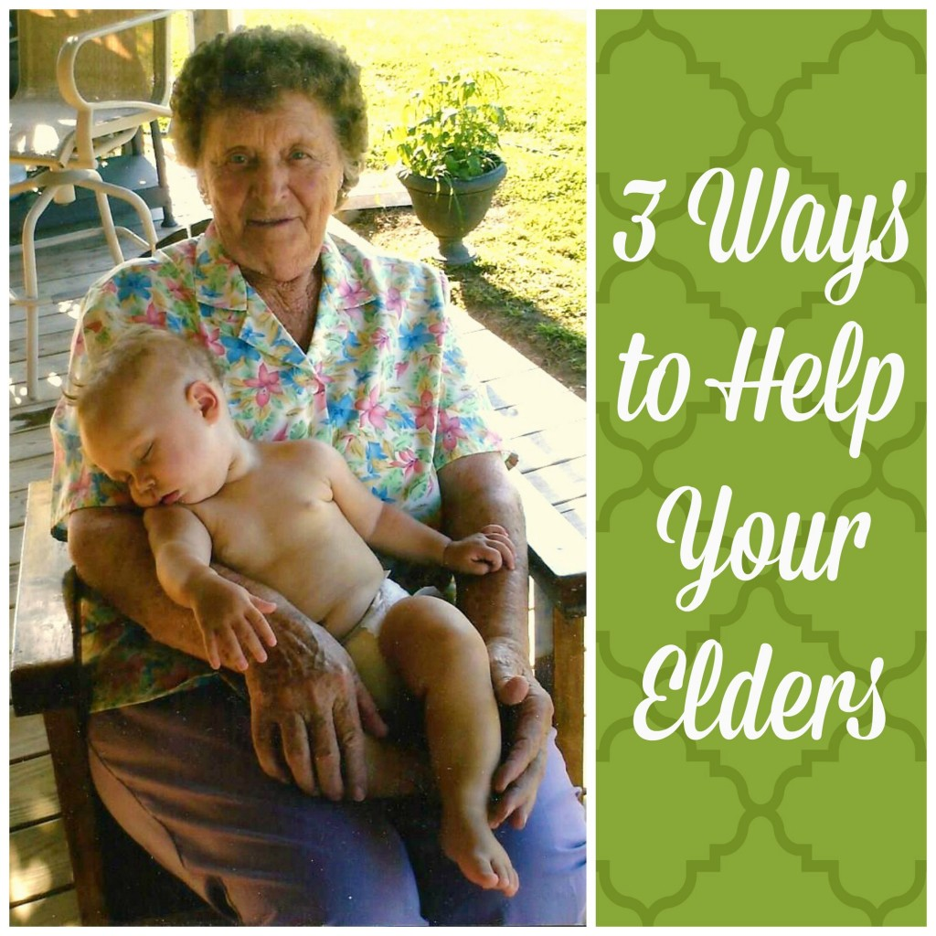 3 Ways to Help Your Elders